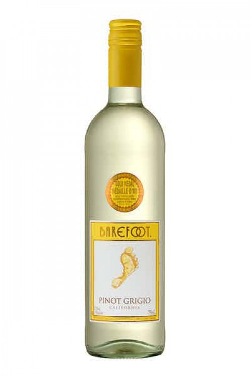 Barefoot Pinot Grigio 750ml NV