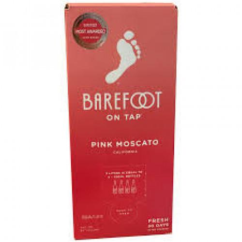 Barefoot Pink Moscato 3L Box NV