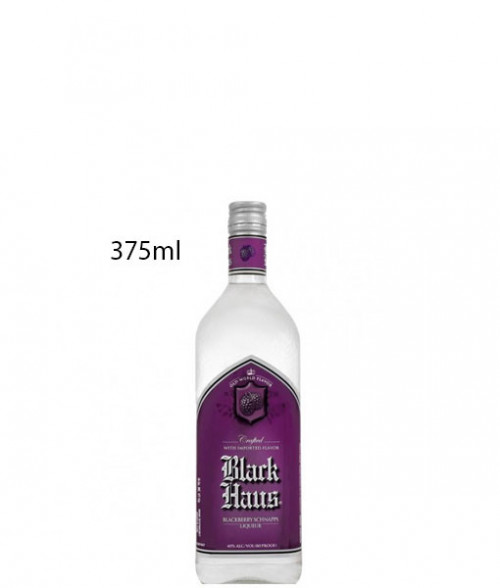 Black Haus Blackberry Schnapps 375ml