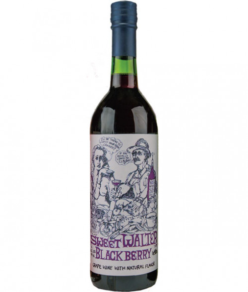 Bully Hill Sweet Walter Blackberry 750Ml NV