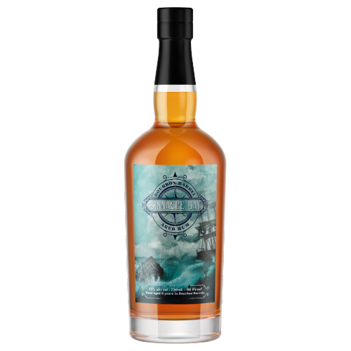Black Button Binnacle Bay Bourbon Barrel Aged Rum 750ml