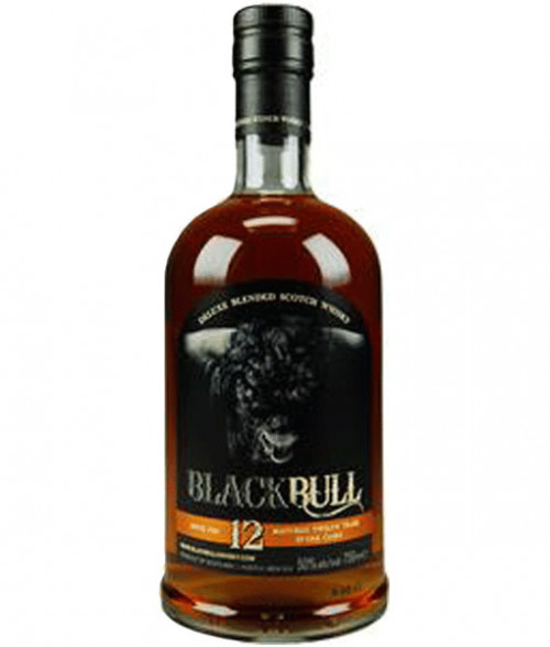 Black Bull 12Yr Blended Scotch 750ml