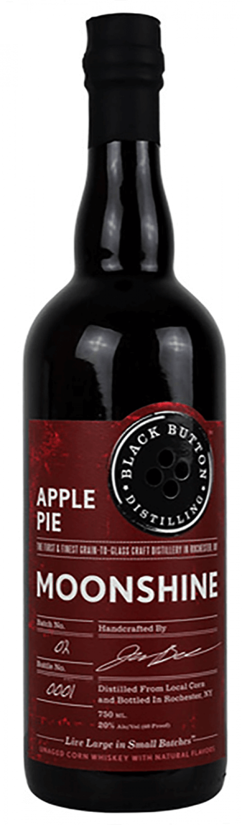 Black Button Apple Pie 750ml