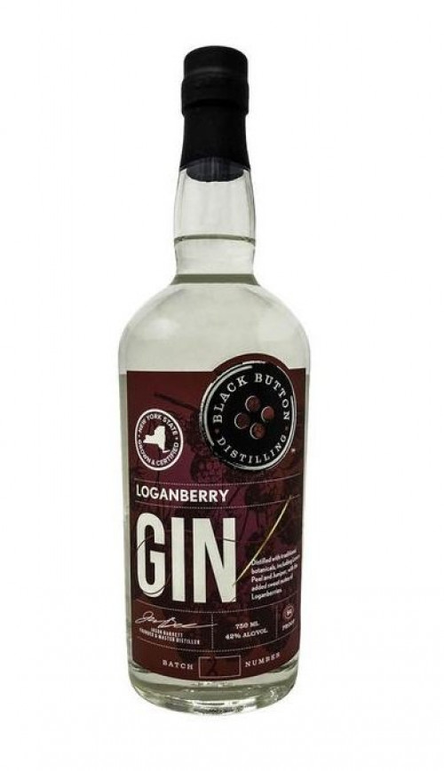 Black Button Loganberry Gin 750ml
