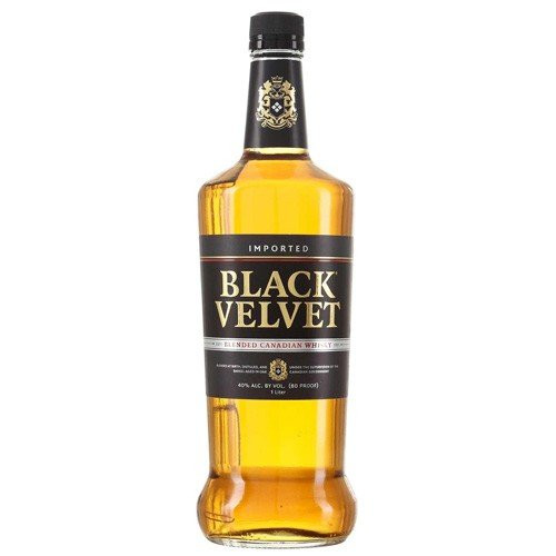 Black Velvet Canadian Whisky 1L