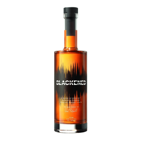 Blackened Metallica Whiskey 750ml