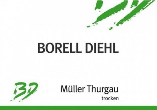 2019 Borell Diehl Muller Thurgau 1L