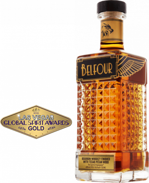 Belfour Pecan Bourbon Whiskey 750ml