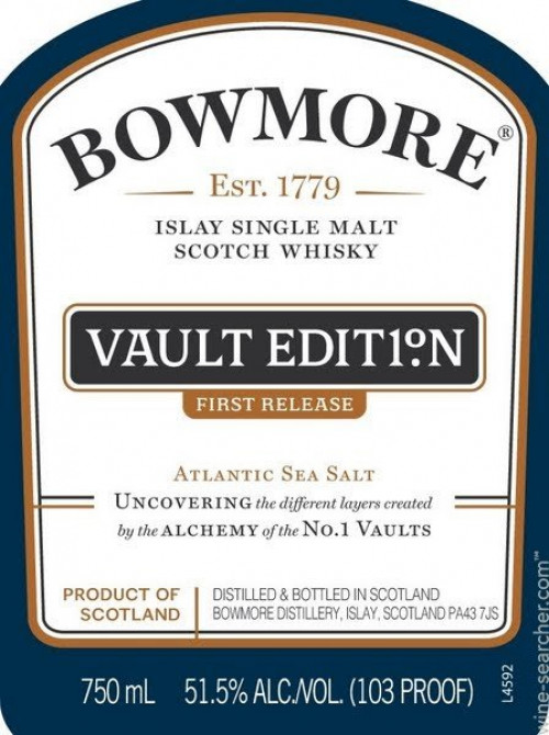 Bowmore Vaulted Edition #1 Single Malt Scotch 750ml