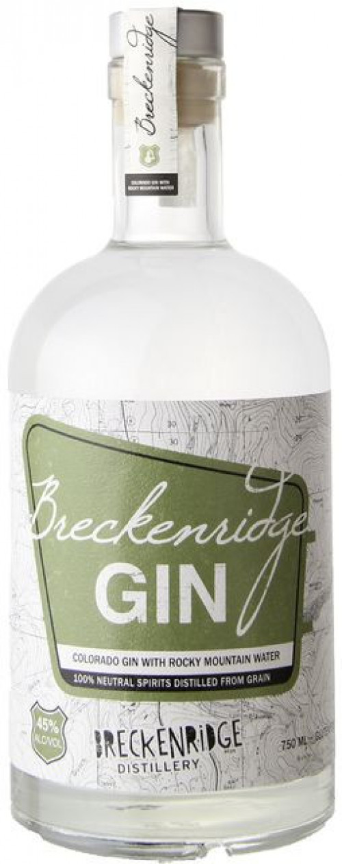 Breckenridge Gin 750ml