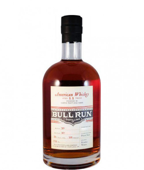 Bull Run 11Yr American Whiskey finished in Oregon Pinot Noir Casks 750ml