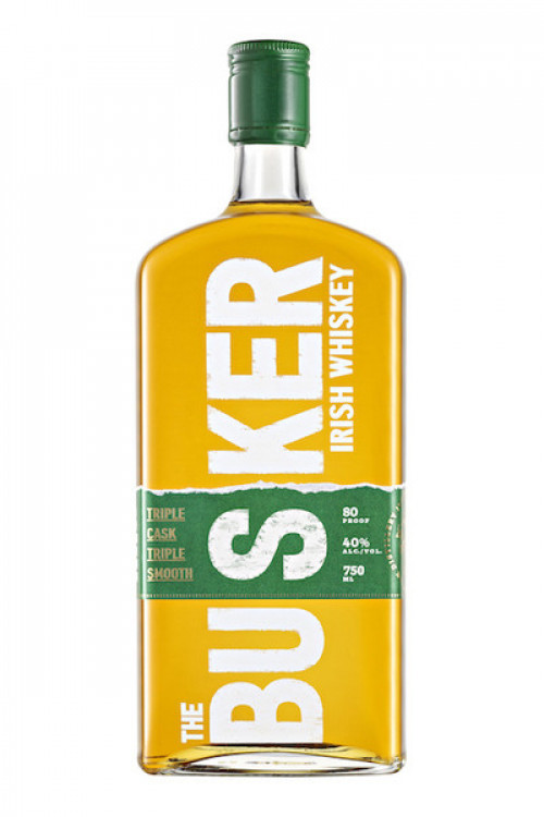 Busker Triple Cask Irish Whiskey 750ml
