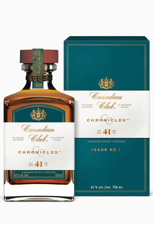 Canadian Club Chronicles 41Yr 750ml