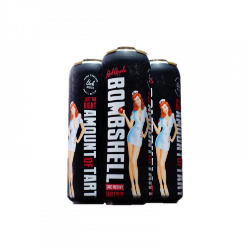 3 Bros Bombshell Hard Cide Cane Mutiny 4Pk - 16oz Cans