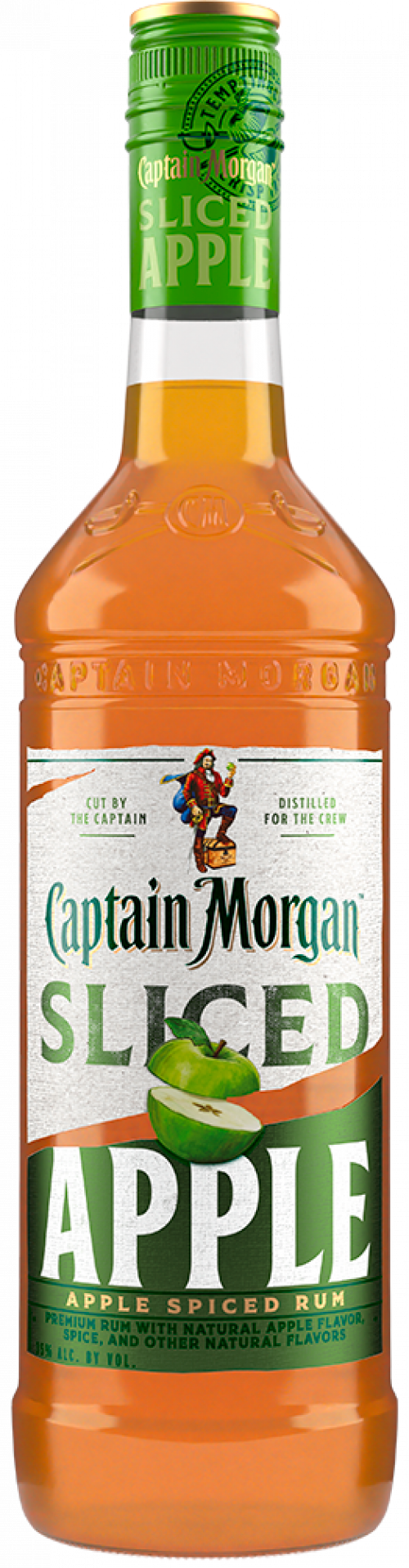 Captain Morgan Sliced Apple Spiced Rum 750ml