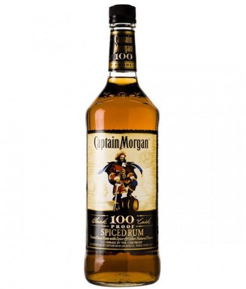 Captain Morgan 100Pf Spiced Rum 1L