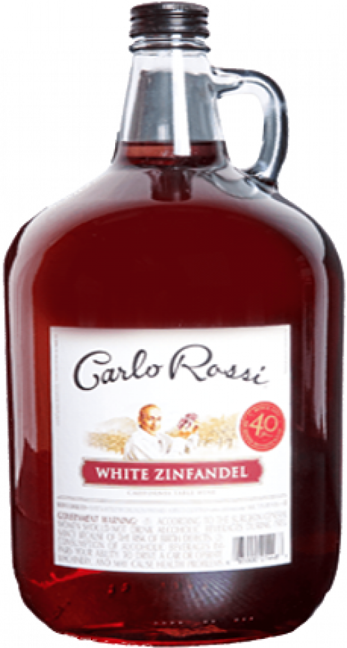 Carlo Rossi White Zinfandel 4L NV