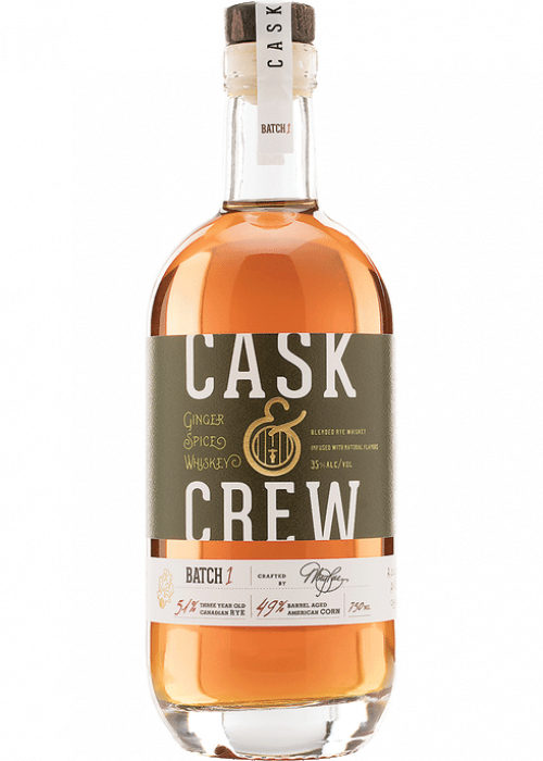 Cask & Crew Ginger Spiced 750ml