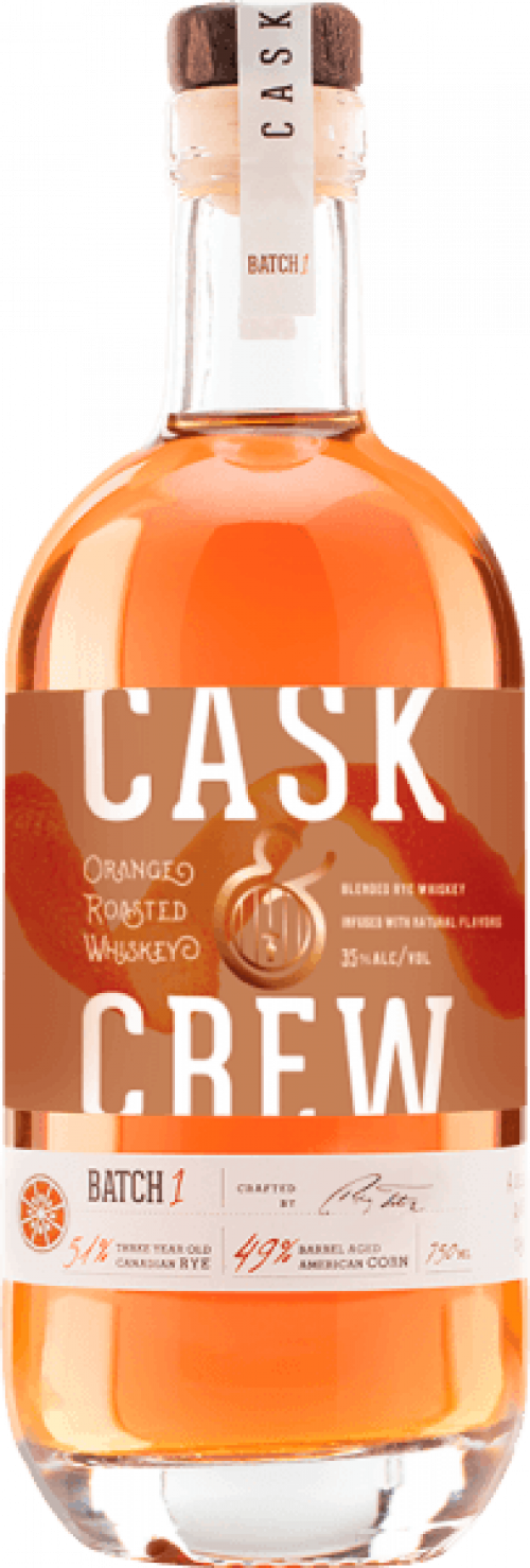 Cask & Crew Orange Whiskey 750ml