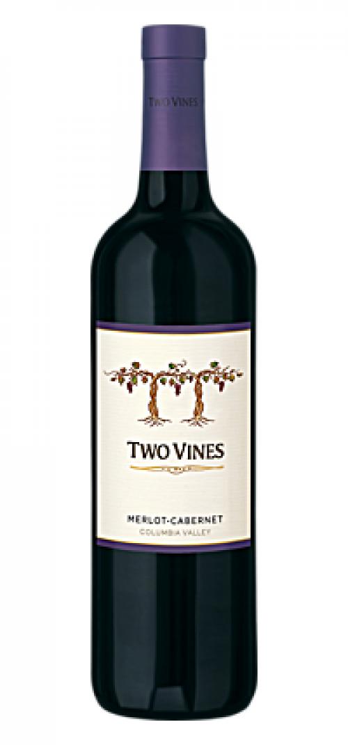 Two Vines Merlot/Cabernet Sauvignon 750ml NV