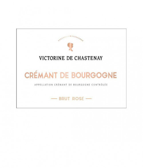 Chastenay Cremant De Bourgogne Brut Rose 750Ml NV