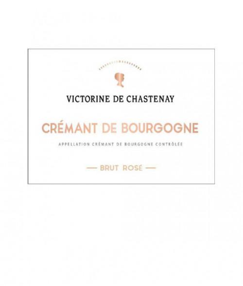 Chastenay Cremant De Bourgogne Brut Rose 750ml NV