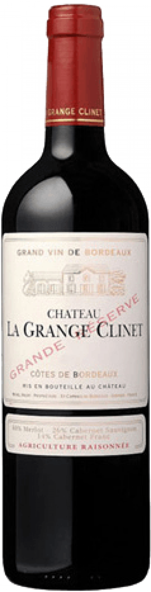2017 Chateau La Grange Clinet Red Grande Reserve 750ml
