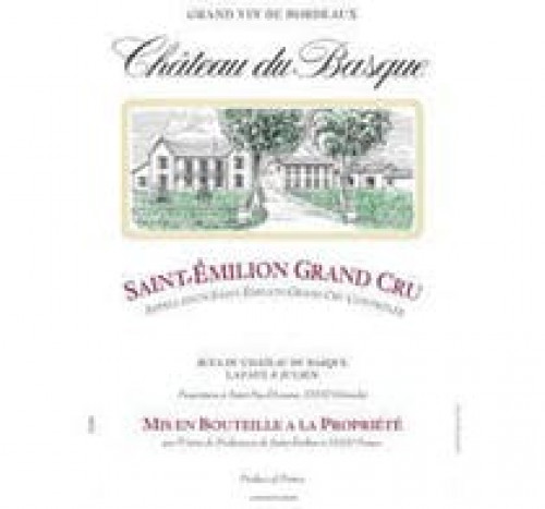 2016 Chateau Du Basque St. Emilion 750ml