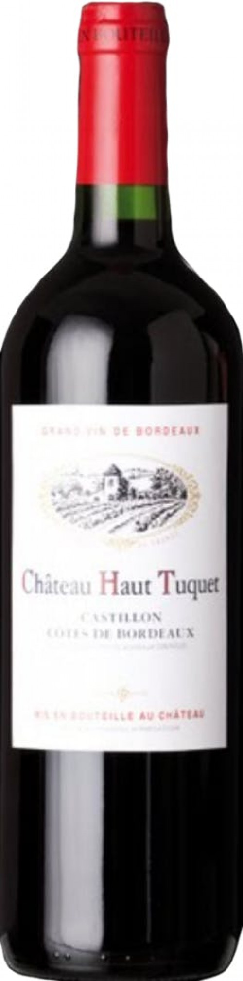 2018 Chateau Haut Tuquet, Cotes de Bordeaux Castillon 750ml