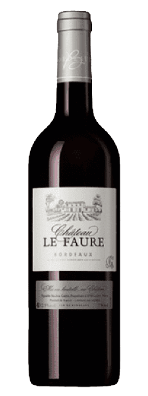 2018 Chateau Le Faure Red 750ml