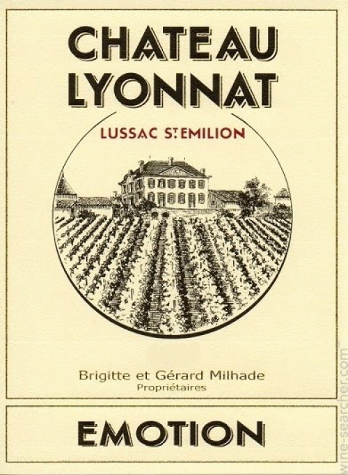 2015 Chateau Lyonnat Emotion Red 750ml