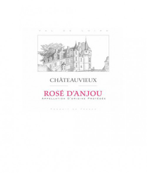 2018 Chateauvieux Rose D'Anjou 750ml
