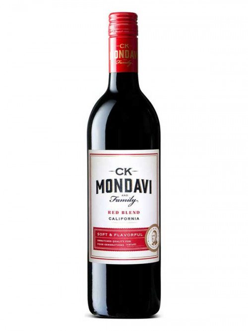2016 C.K. Mondavi Red Blend 750Ml