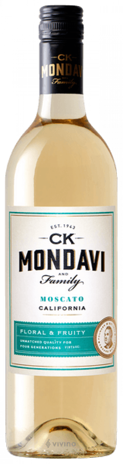 C.K. Mondavi Moscato 750ml NV