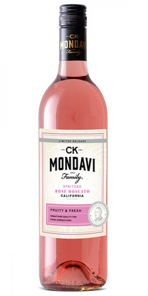 CK Mondavi Spritz Rose Moscato 750ml NV