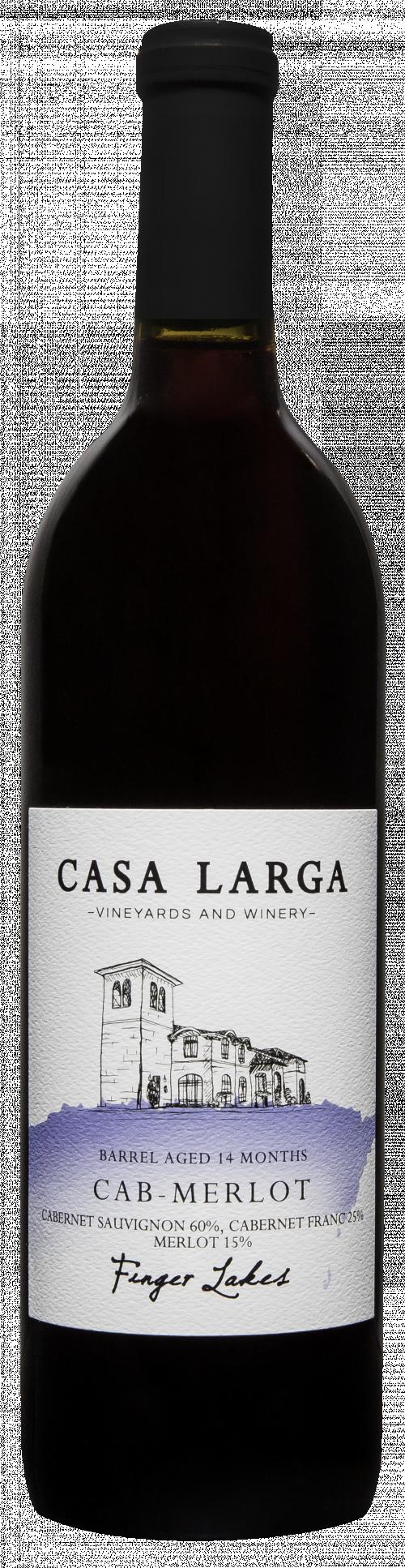 Casa Larga Cabernet/Merlot 750ml NV