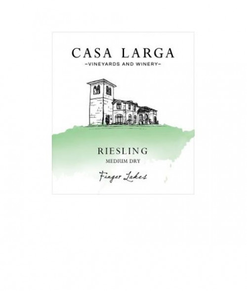 2018 Casa Larga Medium-Dry Riesling 750ml