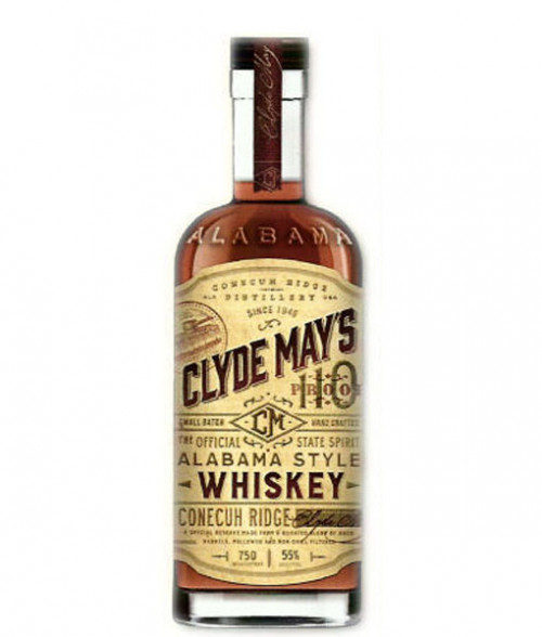 Clyde Mays Conecuh Ridge Whiskey 110 Proof 750ml