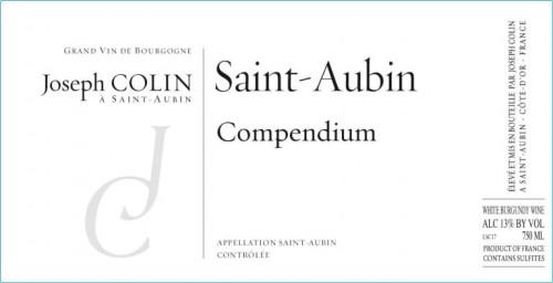 2018 Joseph Colin St-Aubin Compendium Blanc 750ml