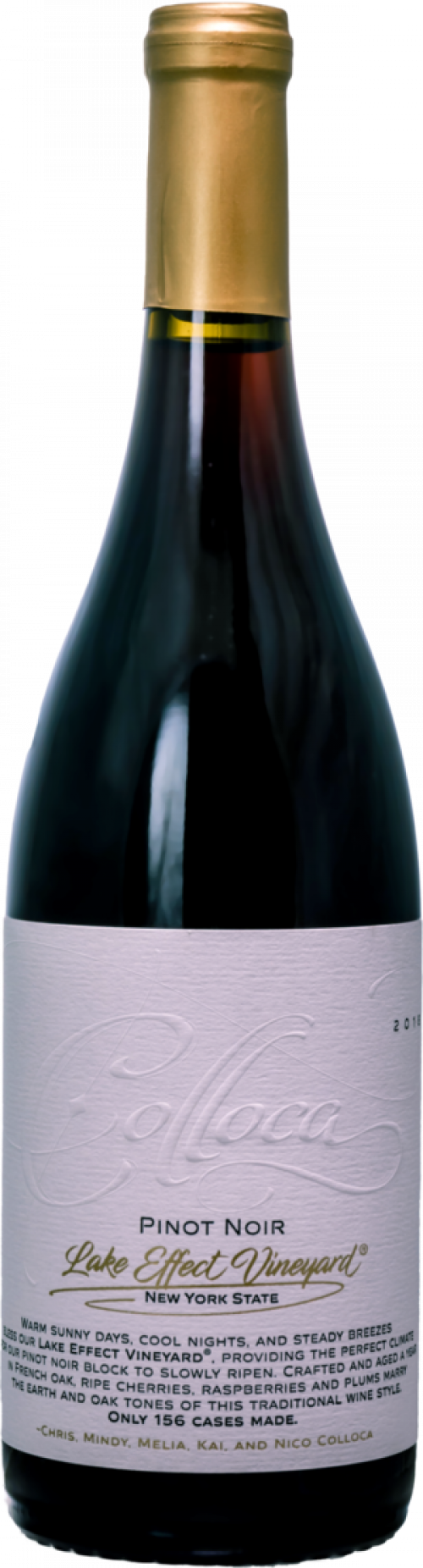 2018 Colloca Lake Effect Pinot Noir 750ml