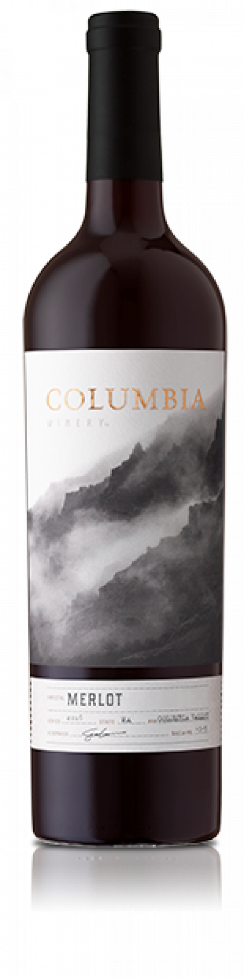 Columbia Wine Merlot 750Ml NV