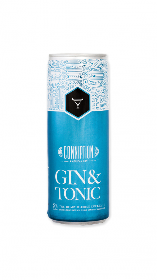 Conniption Gin & Tonic 4 Pk - 355ml Cans