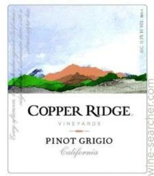 Copper Ridge Pinot Grigio 1.5L NV