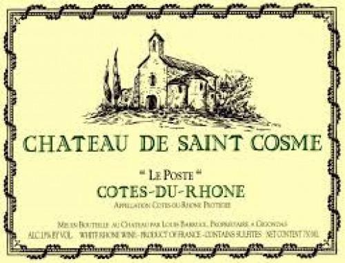 2018 Chateau de Saint Cosme Le Poste Blanc 750ml