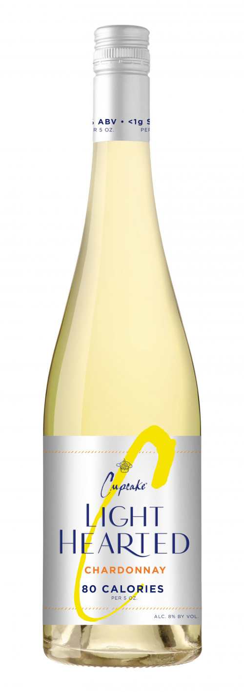 Cupcake Light Hearted Chardonnay 750ml NV