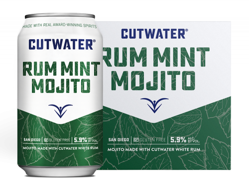 Cutwater Rum Mint Mojito 4Pk - 355ml Cans