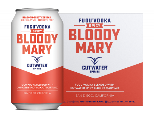 Cutwater Spicy Bloody Mary 4Pk 355ml Cans
