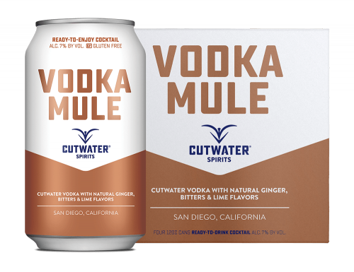 Cutwater Vodka Mule 4Pk 355ml Cans