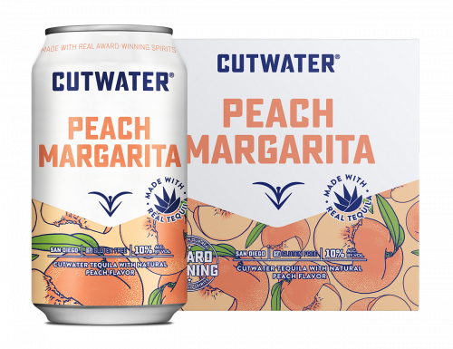 Cutwater Peach Margarita 4Pk 355ml Cans