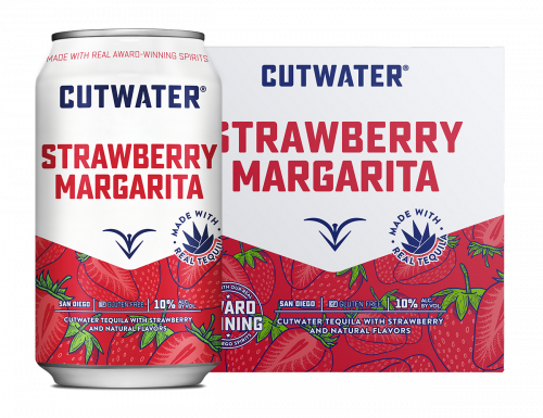 Cutwater Strawberry Margarita 4Pk 355ml Cans